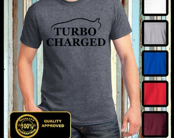 Turbo Charged T-shirt, Racing Shirt, Tribute Tee