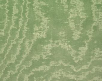 SCALAMANDRE TURQUOISE Watermark MOIRE Fabric 10 Yards