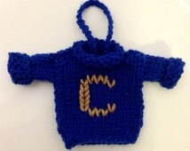 Harry Potter Weasley Sweater, Ravenclaw, Christmas Ornament, Christmas Decoration, Hogwarts House, Personalised, Custom, Free Shipping!