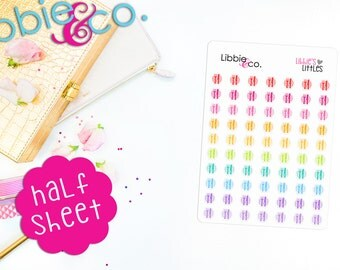 Libbie's Littles Knife and Fork Life Planner Stickers! Perfect for Erin Condren, Happy, Mambi, ...