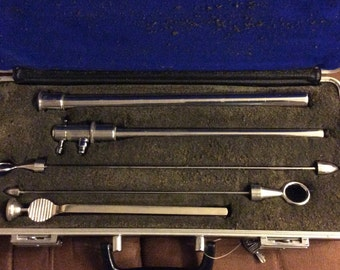 Reduced This Seward Surgical Instruments ln a fitted Box