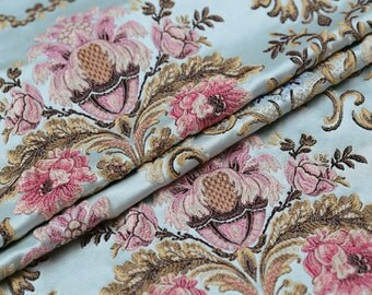 1 meter width 51.18 inches brocade fabric,golden brocade fabric,jacquard crafts fabric,for dress material,Floral fabric(150-6)
