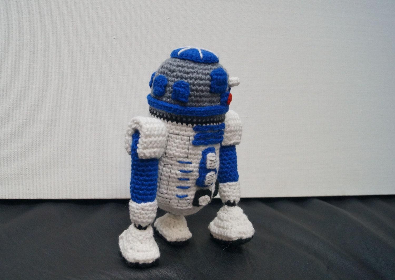 Tutorial Amigurumi R2d2 : R2D2 Amigurumi Crochet Pattern PDF, Crochet Amigurumi ...