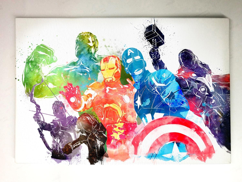Hulk Canvas Painting