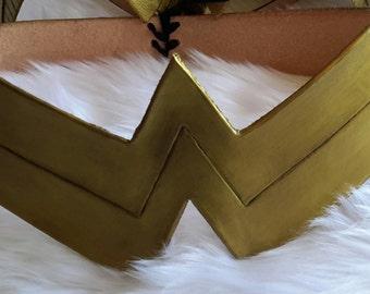 Leather Wonder Women Belt