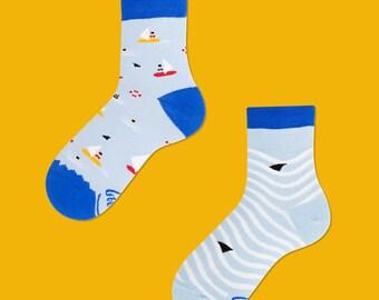 Surf & Sail Kids Socks | kids socks | colorful socks | boys socks | fun  | patterned socks | surfing socks | girls socks | children