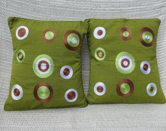 Cushion covers. Come in a pair, sale now on!!!