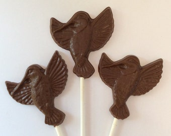 100 Hummingbird Chocolate pops