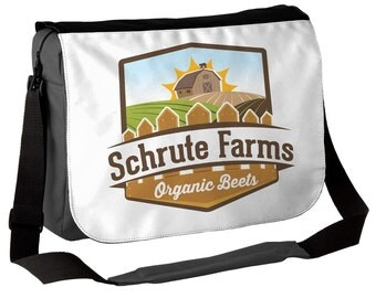 Schrute Farms - The Office / Dwight Schrute Inspired Messenger Bag