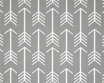 Arrow Baby Bedding - Grey and White - Nursery - Toddler Bedding - Crib Bedding - Crib Skirt - Bumper Pads - Minky Blanket - Rail Guard