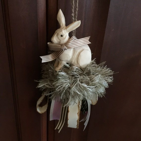 Large Tassels Home Decor: Bunny Hanging Decor Tassel