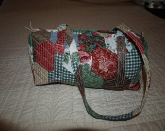 FREE SHIPPING Medium Tote, Medium Weekend Bag, Double-faced Quilted  Tote
