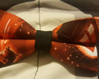 Red Doctor Who Bowtie