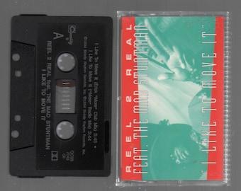 Vintage Cassette Tape : Cassette Single - Reel 2 Real - I Like To Move It / (Instrumental) QCSS-7040