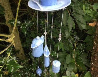 Tea Cup Wind Chimes