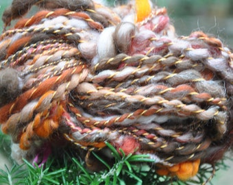 "Wool spun at the spinning wheel ""the daughter of Vesuvius"""