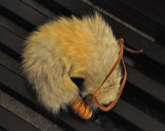 Kit-Fox tail bracelet