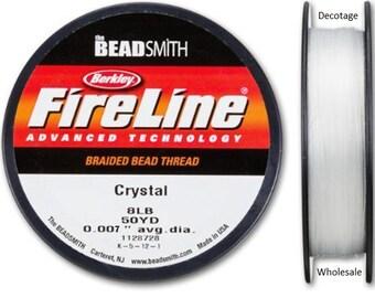 Fireline - 8 lb. Crystal 50 yards