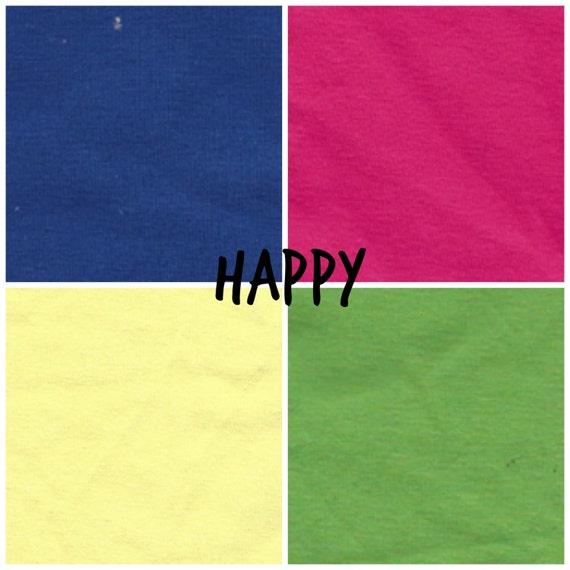 Happy Color Theme Solid Underwear Pack - Elastic Free - Comfy Undies - Scrundlewear - Scrundies -