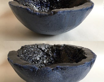 Ceramic Kelp Bowl / Handmade Pottery