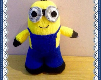 Minion Soft Toy Knitting Pattern