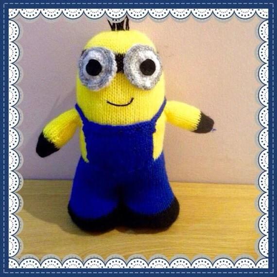 Minion Pattern Knitting : Minion Soft Toy Knitting Pattern