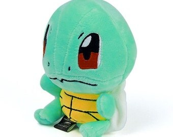 "Plush 6"" Squirtle Stuffed Animal Pokemon"