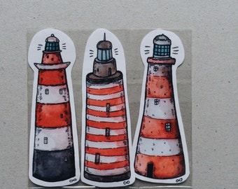 Lighthouses Sticker Pack
