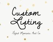 CUSTOM LISTING FOR: Ashly for 20 custom printed Rocking Horse Baby shower invitations