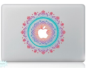New Flowers Decal Mac Stickers Macbook Decals Macbook Stickers Apple Decal Mac Decal Stickers Laptop Decal 03