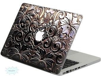 Flower Decal Mac Stickers Macbook Decal Macbook Stickers Apple Decal Mac Decal Stickers