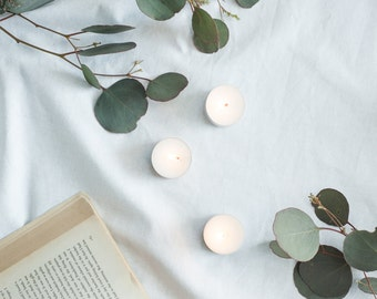 Natural Soy Tea Lights - 10pk