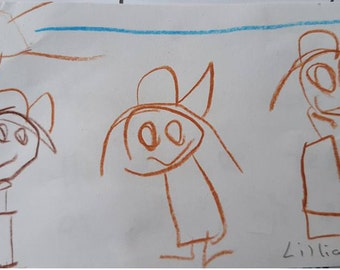Turn your Child's drawing into an animation.