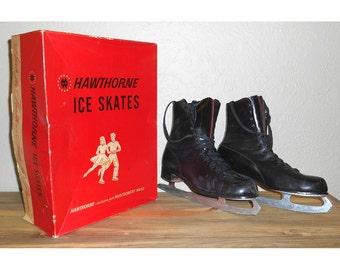 Vintage Hawthorne Men's Figure Skates