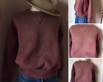 Beautifully distressed vintage sweatshirt!