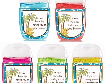 Sanitizer / Bath and Body Works / Hand Sanitizer / Simbal / Baby Shower Favors / Bath and Body Works Sanitizer / Sanitizer Labels / Simba