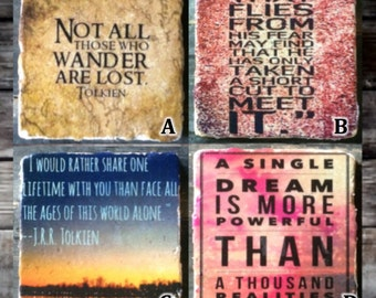 Tolkien Quotes (You Pick!) Tile
