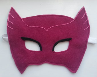 Owlette Mask. Suitable for Toddlers, Children and adults. Party favour and Party mask. Great for dress up