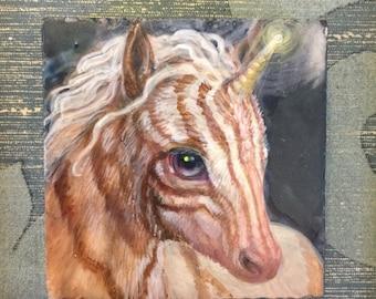 Pin Stripe Unicorn