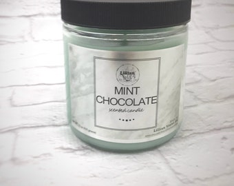 Mint Chocolate Candle