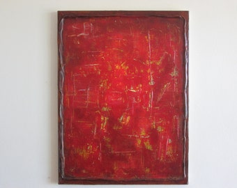 Original Modern Acrylic Abstract Painting