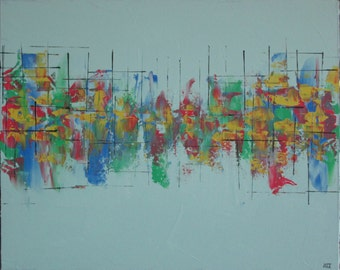 """16""""x20"""" Abstract Painting"""