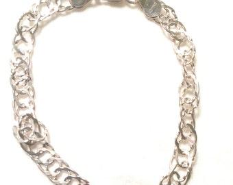 SU 925 sterling silver chain / charm bracelet