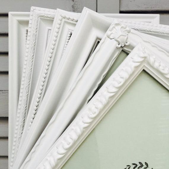8x10 white picture frames set custom ornate picture frames. Black Bedroom Furniture Sets. Home Design Ideas
