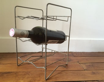 Old bottle rack