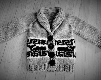 Wee Cowichan Sweater