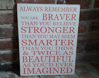 Braver, Stronger, Smarter, and Beautiful