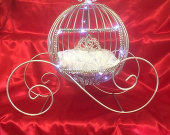 Cinderella Carriage Lighted with Accessories