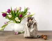 Linen Bag set of 2- Natural Linen Products Bag - Storage Bag - Gift bag
