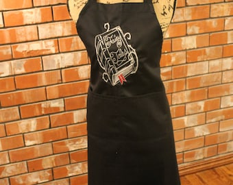 Book Lovers Apron - Fairy Tale Tome